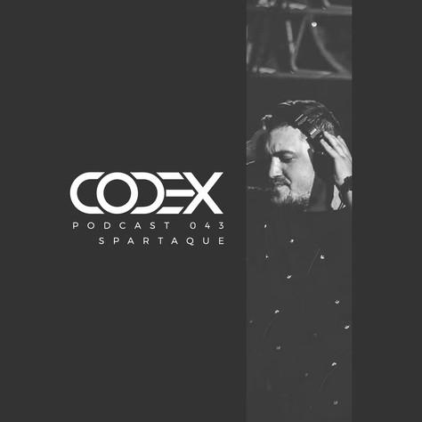 Codex Podcast 043 with Spartaque [Die Kantine, Salzburg, Austria.]