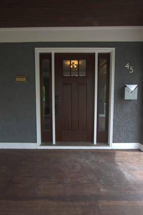 Hapgood Door and Plaque