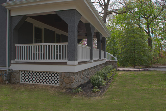Front Porch Side View