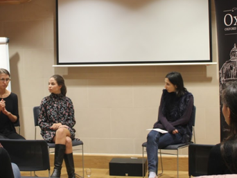Entrepreneurship Panel: Anna Gross and Serena Guen share their wisdom