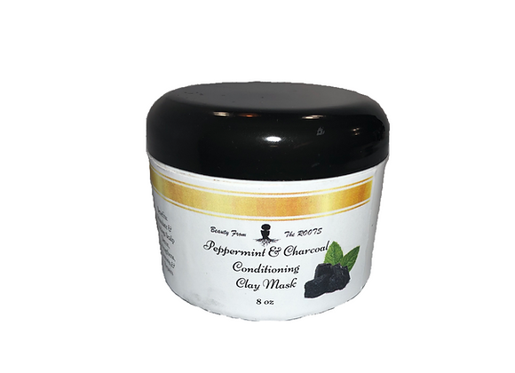 Peppermint & Charcoal Conditioning Clay Mask