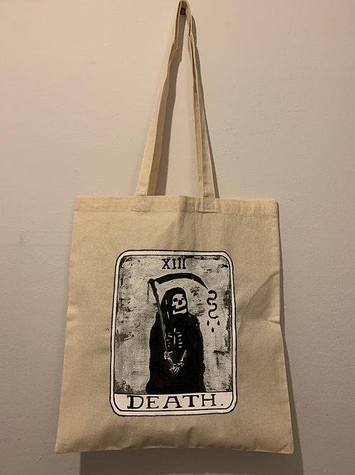Death Tarot Card Tote