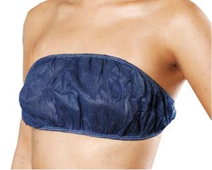 カラー不織布ブラジャー(紺) 5枚組
