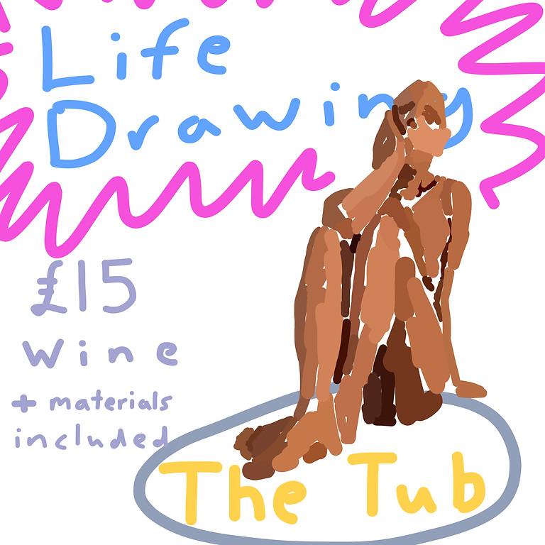 Life Drawing at The Tub