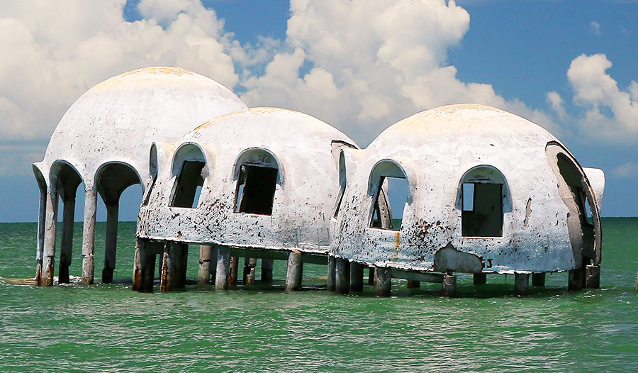 Dome Homes Boat Tour Florida Saltwater Adventures