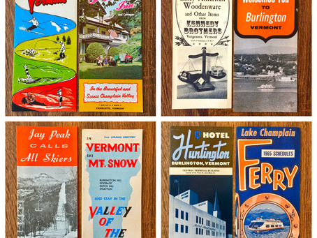 Vintage Burlington Ephemera!
