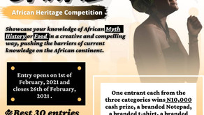 Oriire African Heritage Competition