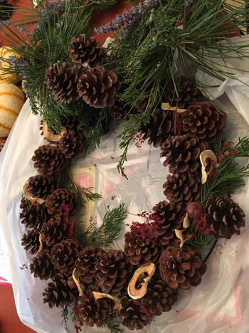 Birdseed Wreath from Club Workshop