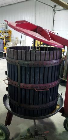 Table Mountain Winery Wine Press