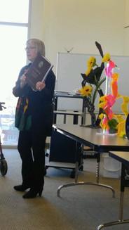 Club Presentation-Flower Show Judging