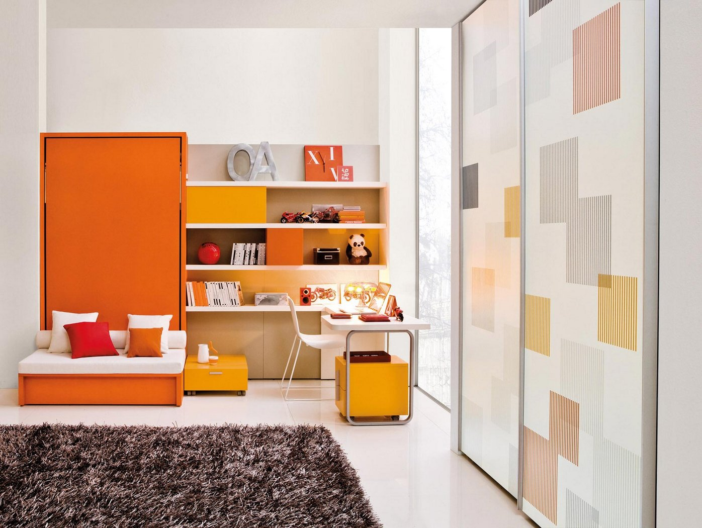 Bright & Colorful Kids Room