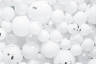 Balloon Z White Balloons Background Pic.