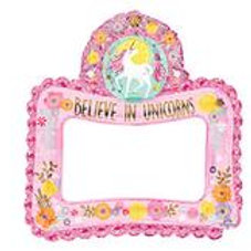 SELFIE FRAME MAGICAL UNICORN