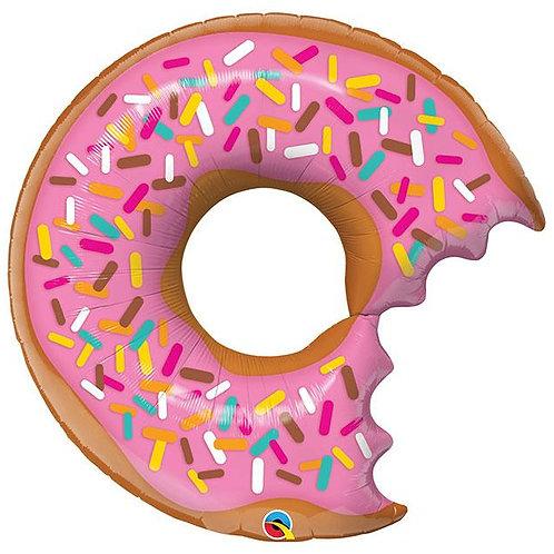 PINK DONUT W/ SPRINKLES BALLOON