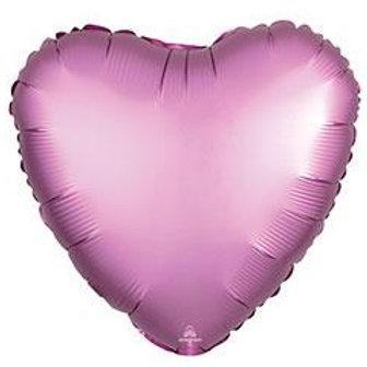 SATIN LUXE HEART BALLOONS