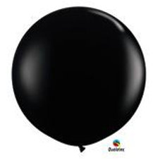 BLACK ONYX GENDER REVEAL BALLOON