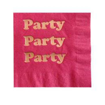 PARTY PARTY NAPKINS