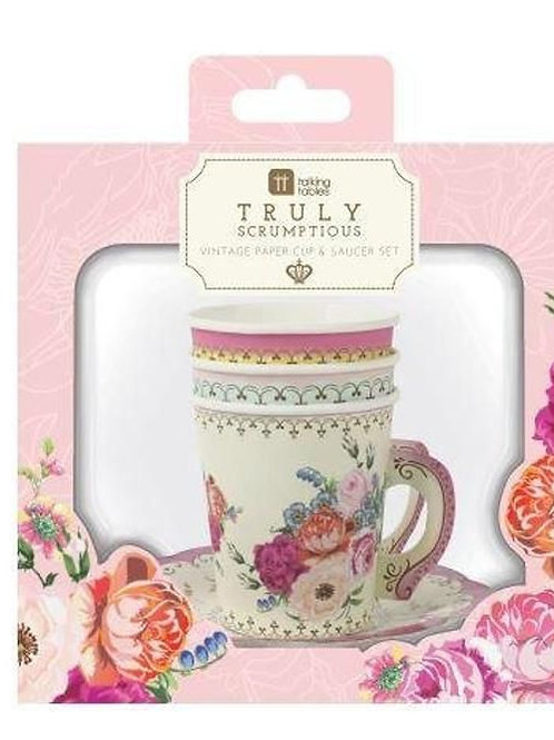 TRULY SCRUMPTIOUS TEACUP SETS
