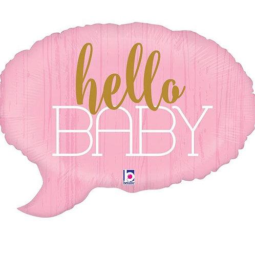 HELLO BABY BALLOON
