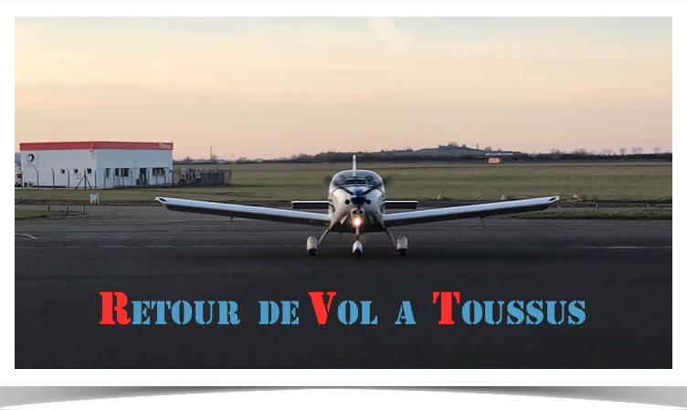 Toussus retour au parking