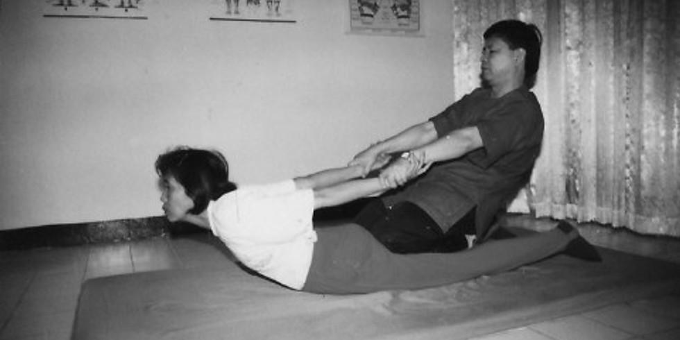 GECANCELED Thai Massage cursus (4 wekelijkse lessen)