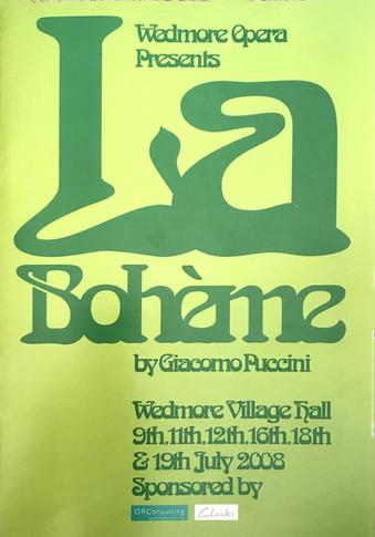 La Boeheme, 2008