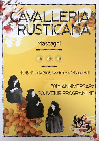 Cavalleria Rusticana, 2018