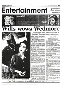 Wills Wows Wedmore - The Observer