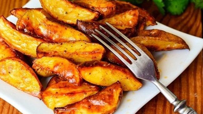 Картофель запечённый пряный 1/150г