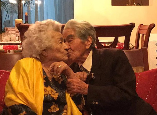 Oldest couple in the world celebrate 79 years of marriage