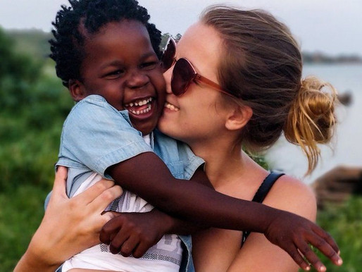 British woman adopts orphan baby boy she looked after in Uganda