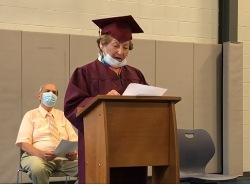 Holocaust survivor's dream of getting a diploma comes true