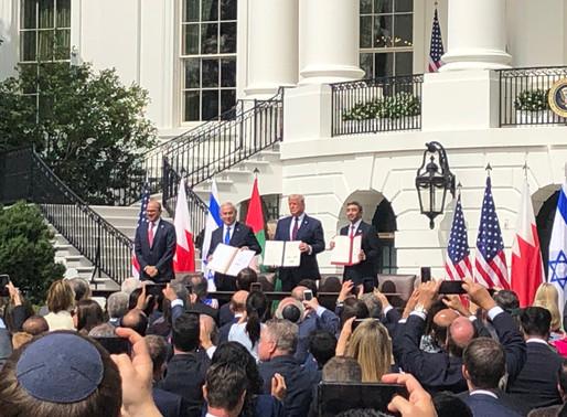 B'nai B'rith Celebrates Signing of Abraham Accords