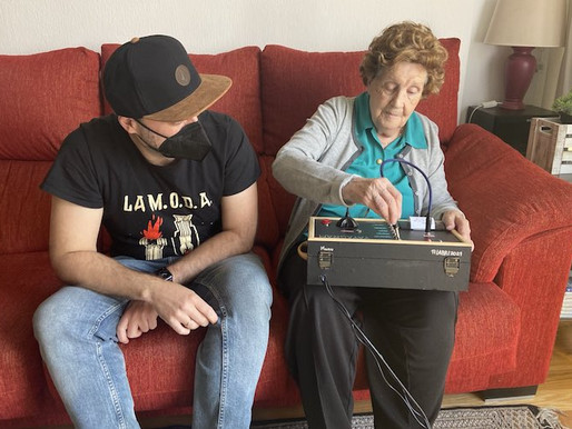 Grandson creates telegraph for grandmother to communicate with her family