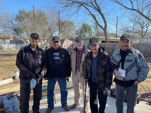 Volunteers unite to restore of World War Two veteran