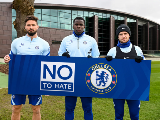Chelsea FC launch No To Hate campaign