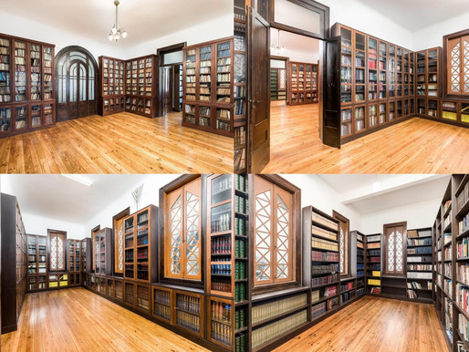 The extraordinary stories of two men who have enriched the library at Oporto's synagogue