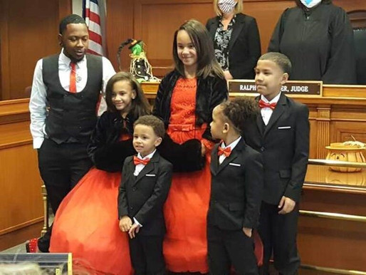 A single man adopts five siblings so they are not split up