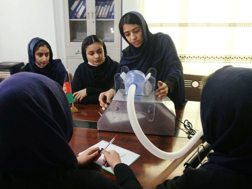 Afghan students produce ventilators to help treat COVID-19