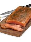 filet de saumon gravelax