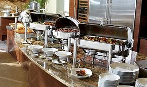 buffet chaud table d'azur