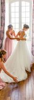 demoiselle honneur mariage table d'azur.