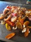 plancha-de-fruits-de-mer table d 'azur