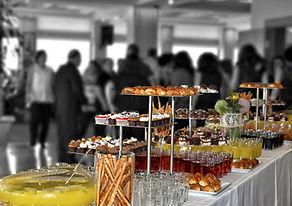 réception table d'azur