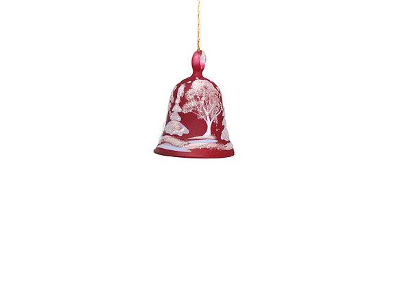 Campana paesaggio rossa / Small red bell