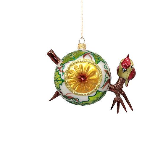 Sfera con uccellino / Sphere with bird