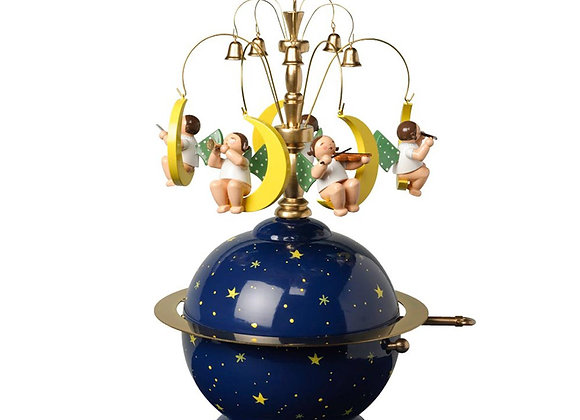 Carillion globo con angeli / Globe with angels music box