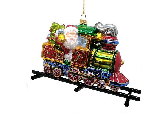 Babbo in treno / Santa on a train