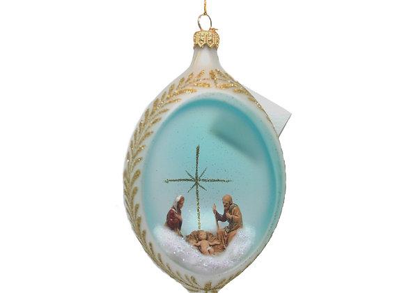 Natività azzurra / Blue Nativity