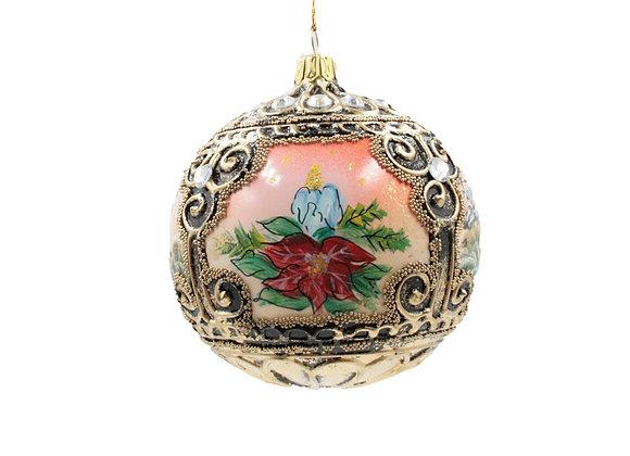 Sfera con tre scenari natalizi / Sphere with three christmasscenarios